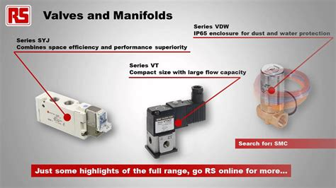 SMC Pneumatics products | RS Components - YouTube