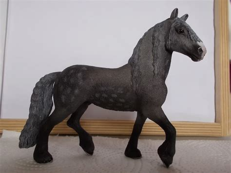 I started with repainting - Schleich horses