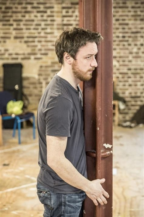PHOTOS: James McAvoy in The Ruling Class rehearsals