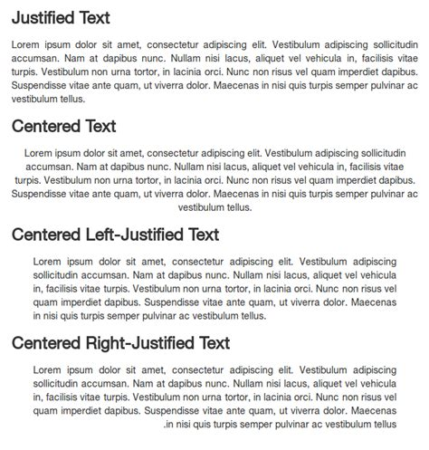css - Right justifying text? - Stack Overflow