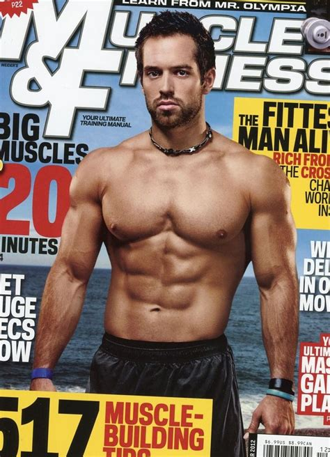 Rich Froning | Rich froning, Fitness magazine, Muscle fitness