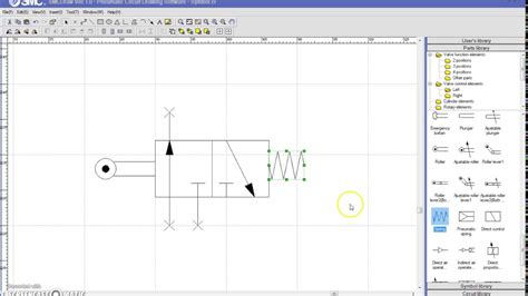 How to Create a Pneumatic Symbol in SMC Draw - YouTube