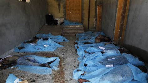 Bodies Pile Up in Libyan Hospital