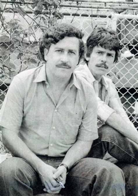 Colombian drug lord Pablo Escobar spent seven years on