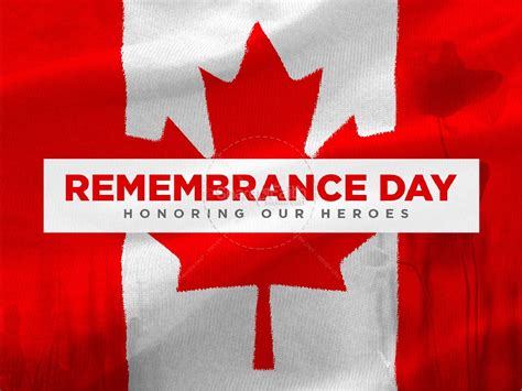 Remembrance Day Canada 2018 Profile picture frame for